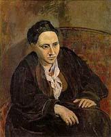 Gertrude Stein by Picasso
