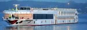 Rhine cruise boat