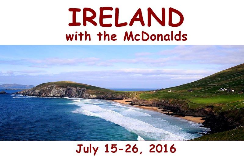 mcdonalds ireland tour